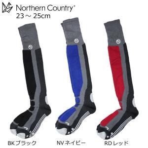 【郵便受けへお届け送料無料】Northern Country ノーザンカントリー スキー スノーボード レディース ロングタイプ ウール ソックス 靴下 NA-9514(MP-583)|fst