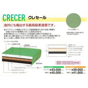 【一畳から発送】軽量化学柔道畳≪海外へも輸出、最高級畳≫「クレセール」 fst
