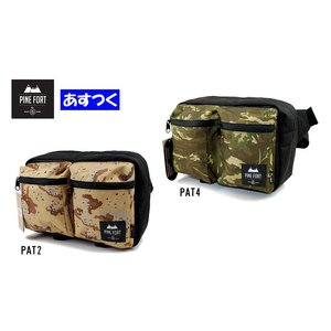 PINE FORT ボディバッグ「CAMO BODYBAG」PNF164006|fst