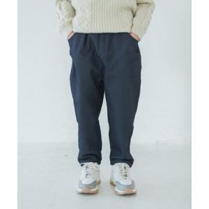 ニットデニムテーパードパンツ こども デニムパンツ パンツ デニム おしゃれ かわいい テーパード のびのび 履きやすい 綿100% 女の子 男の子|ftk-2