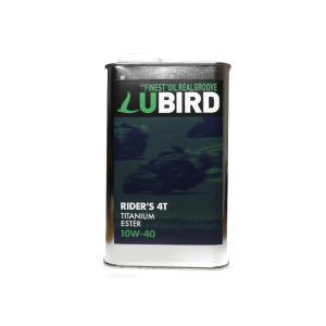LUBIRD/ルバード  RIDER'S 4T 10W-40  1L缶   【2輪4ストローク用エンジンオイル】|ftk-oil-products