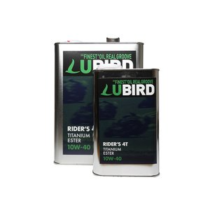 LUBIRD/ルバード  RIDER'S 4T 10W-40  4L缶   【2輪4ストローク用エンジンオイル】|ftk-oil-products