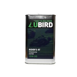 LUBIRD/ルバード  RIDER'S 4T 15W-50  1L缶   【2輪4ストローク用エンジンオイル】|ftk-oil-products
