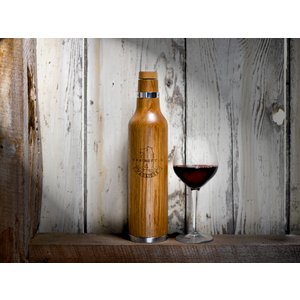 OAK BOTTLE(オークボトル) 355ml ワイン・ウイスキーの熟成が出来るボトル|ftk-tsutayaelectrics