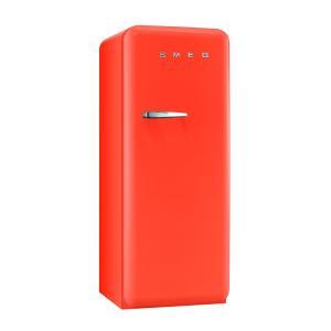 SMEG(スメッグ) 1ドア冷凍冷蔵庫268L/右開き オレンジ FAB28UORR1 ftk-tsutayaelectrics