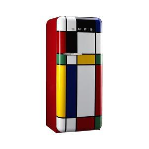SMEG(スメッグ) 1ドア冷凍冷蔵庫248L/右開き 200Vマルチカラー FAB28RDMC|ftk-tsutayaelectrics