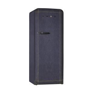 SMEG(スメッグ) 1ドア冷凍冷蔵庫248L/右開き 200Vデニム FAB28RDB|ftk-tsutayaelectrics