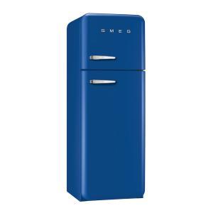 SMEG(スメッグ) 2ドア冷凍冷蔵庫293L/右開き 200Vブルー FAB30RBL1|ftk-tsutayaelectrics