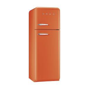 SMEG(スメッグ) 2ドア冷凍冷蔵庫293L/右開き 200Vオレンジ FAB30RO1|ftk-tsutayaelectrics