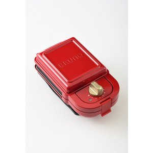BRUNO ホットサンドメーカー シングル レッド BOE043-RD|ftk-tsutayaelectrics