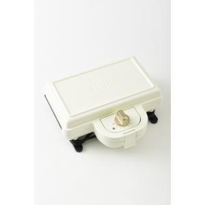 BRUNO ホットサンドメーカー ダブル ホワイト BOE044-WH ftk-tsutayaelectrics