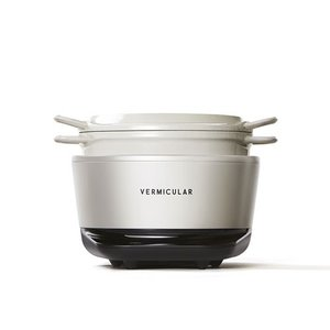 【入荷待ち】バーミキュラ(Vermicular)ライスポットミニ(3合炊き)シーソルトホワイト