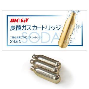 MOSA モサ 炭酸ガスカートリッジ(24本入) ftk-tsutayaelectrics