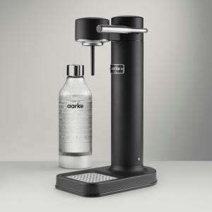 aarke アールケ 炭酸水ガスソーダマシーン CARBONATOR 2 カーボネーター2 ブラック|ftk-tsutayaelectrics