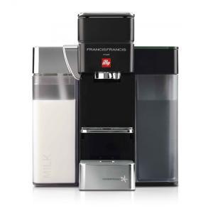 【蔦屋家電先行販売】ILLY エスプレッソマシーンY5 milk Black ブラック|ftk-tsutayaelectrics