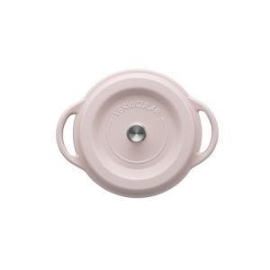 バーミキュラ(Vermicular)オーブンポットラウンド 18cm パールピンク (4589923560106)|ftk-tsutayaelectrics|02