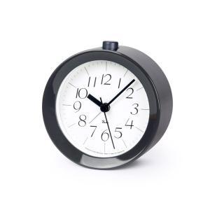 Lemnos タカタレムノス WR09-14 GY 【置き時計 アラーム時計 RIKI ALARM CLOCK リキ アラーム クロック グレー光沢塗装】 ftk-tsutayaelectrics