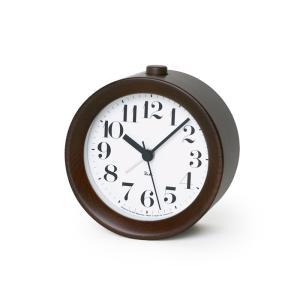 Lemnos タカタレムノス WR09-15 BW 【置き時計 アラーム時計 RIKI ALARM CLOCK リキ アラーム クロック ブラウン】 ftk-tsutayaelectrics