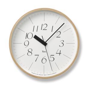 Lemnos タカタレムノス WR07-10 【掛け時計 電波時計 RIKI CLOCK RC リキクロック】 ftk-tsutayaelectrics