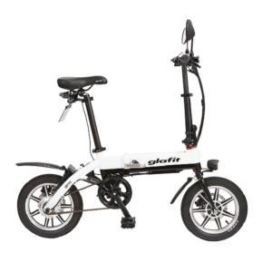 glafit グラフィット 折りたたみ電動バイク GFR-01 ホワイトツートン|ftk-tsutayaelectrics