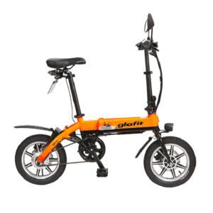 glafit グラフィット 折りたたみ電動バイク GFR-01 ミカンオレンジ|ftk-tsutayaelectrics