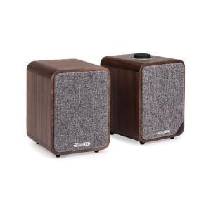 【Bluetoothスピーカーシステム】Ruarkaudio MR1 mk2 RichWalnut(ウォルナット)|ftk-tsutayaelectrics