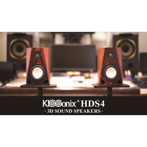 KISSonix 3D Sound Speakers Piano Black|ftk-tsutayaelectrics