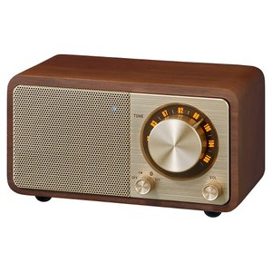 【Sangean】FMラジオ・Bluetoothスピカ― WR-301 ウォルナット ftk-tsutayaelectrics