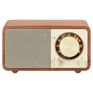 WR-301 FMラジオ・Bluetoothスピーカー(カラー:チェリー) ftk-tsutayaelectrics