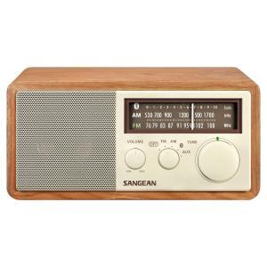WR-302 FM/AMラジオ・Bluetoothスピーカー(カラー:チェリー) ftk-tsutayaelectrics