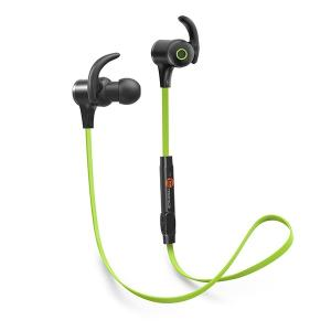 TaoTronics(タオトロニクス) Bluetooth ワイヤレスイヤホン スポ ーツ TT-BH07 グリーン|ftk-tsutayaelectrics