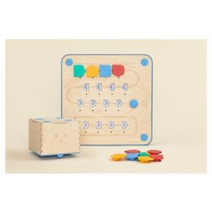 【お取り寄せ】プリモトイズ  キュベット プレイセット  PRIMO001B【知育玩具】〜3歳からプログラミング脳を育てる木製玩具〜 PRIMO001B|ftk-tsutayaelectrics