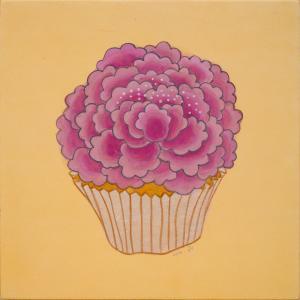 【ガレリア・グラフィカ/Galleria Grafica Tokio】「Flower cake-purple」朴常希/Park SangHee|ftk-tsutayaelectrics