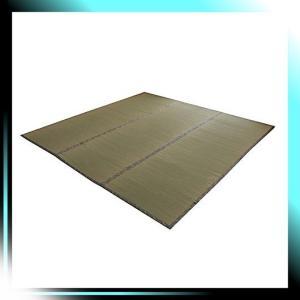261×352cm イケヒコ い草 上敷き カーペット 6畳 国産 糸引織|fubuki