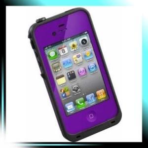 LIFEPROOF iPhone4/4S用防水防塵耐衝撃ケース Gen2 パープル LPI|fubuki