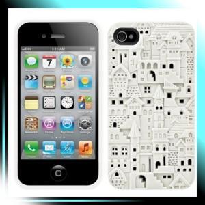 iPhone 4S/4用ハードケース White Avant-garde for iPhone 4S/4|fubuki