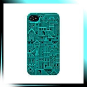 iPhone 4S/4用ハードケース Turquoise Avant-garde for iPhone 4|fubuki