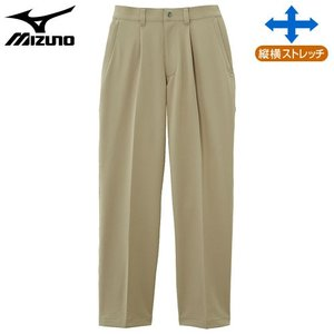 ミズノ(MIZUNO) ドライベクターノンストレスパンツ 男性用 ベージュ S|fudasho0ban