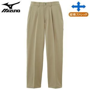 ミズノ(MIZUNO) ドライベクターノンストレスパンツ 男性用 ベージュ MB|fudasho0ban
