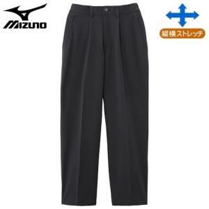 ミズノ(MIZUNO) ドライベクターノンストレスパンツ 男性用 チャコールグレー SB|fudasho0ban