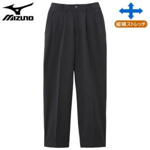 ミズノ(MIZUNO) ドライベクターノンストレスパンツ 男性用 チャコールグレー MB|fudasho0ban
