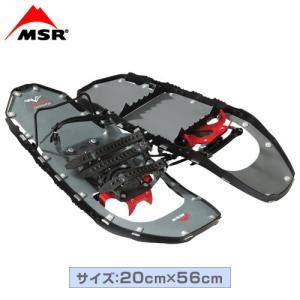 MSR(エムエスアール) スノーシュー ライトニングアッセント 22インチ 男性用 ブラック|fudasho0ban