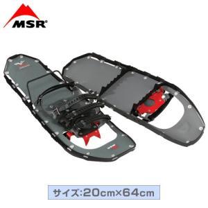 MSR(エムエスアール) スノーシュー ライトニングアッセント 25インチ 男性用 ブラック|fudasho0ban