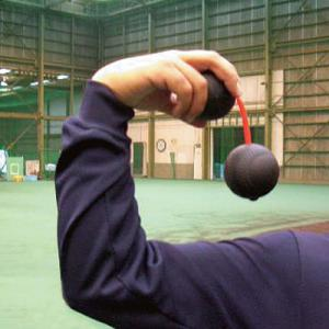 【MIZUNO】ミズノ ツインボール 【投球動作】 28BT-68100