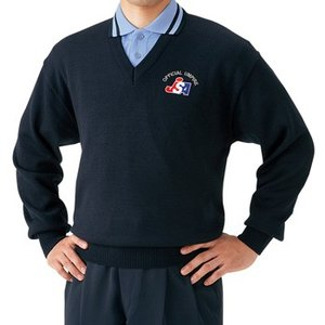 【MIZUNO】ミズノ ソフトボール審判員用 V首セーター 52SU4514
