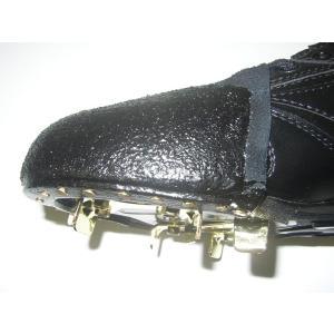 お持ち込みスパイク P革取り付け  牛革製P革(釘打ち取り付け)|fudou-sp