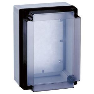 PBH7-1818:【PBH】ポリカボックス 透明カバー付 ヨコ180 タテ180 フカサ77