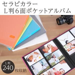 アルバム 大容量 見開き12ポケット ナカバヤシ セラピーカラー TCPK-6L-240|fueru|02