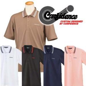 【CONFIDENCE】コンフィデンス半袖 ポロシャツ|fuerzajapan