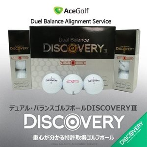 DISCOVERY Dual Balance ゴルフボール 1ダース(12球入) 特許取得 直輸入品|fuerzajapan